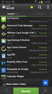 App Backup & Restore - español - screenshot thumbnail