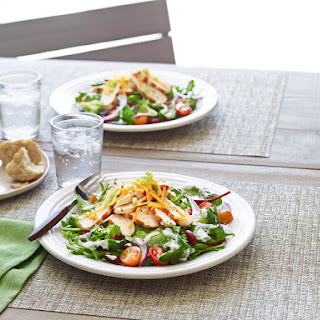 Garden Patch Salad with Chicken.