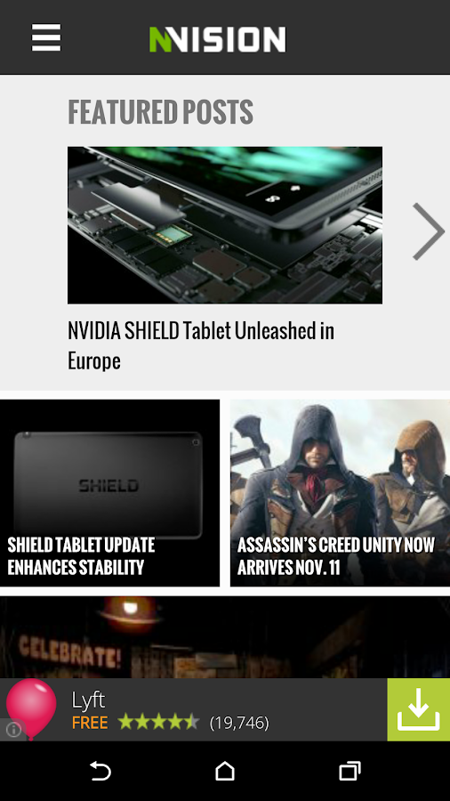 NVISION News App for Android- screenshot