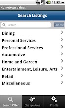 Hometown Values Local Coupons screenshot thumbnail