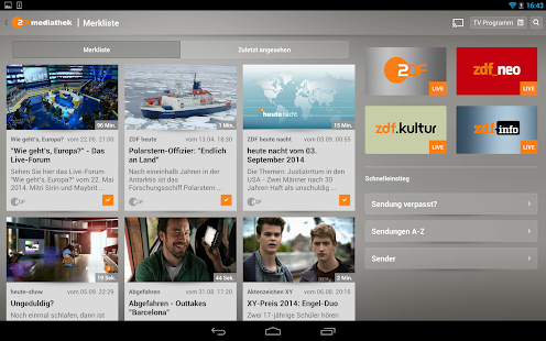 ZDF-App Screenshot 12
