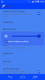 Rays Blue Theme For Xperia- screenshot thumbnail