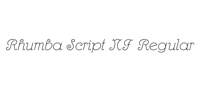 ★ Script Font - Rooted ★- screenshot