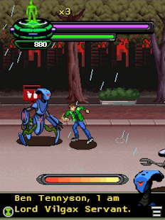 Ben 10 Vengeance of Vilgax Android apk