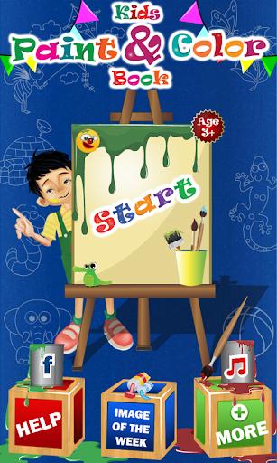 Kids Paint Color Book - Pro