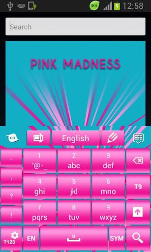 玩免費個人化APP|下載鍵盤粉紅色瘋狂 app不用錢|硬是要APP