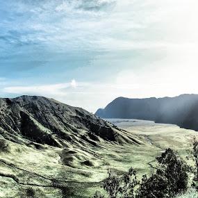 Teletubies hills  by Nur Saputra - Landscapes Mountains & Hills