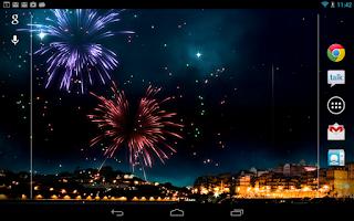 Screenshot of KF Fireworks Wallpaper Paid