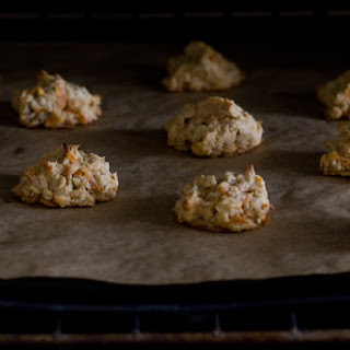 Carrot Oatmeal Cookie.