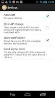 Screenshot of Wifi Roaming Fix