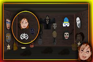 Screenshot of Mystifying Mask Room