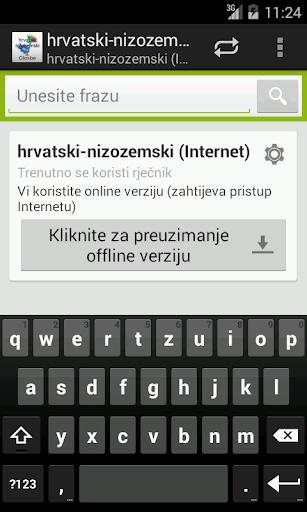 Croatian-Dutch Dictionary
