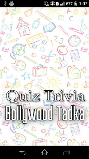 Bollywood Tadka - Quiz Trivia
