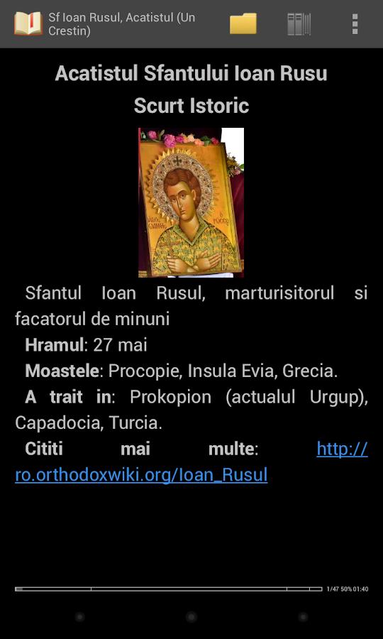 Biblia Ortodoxa,Rugaciuni - screenshot