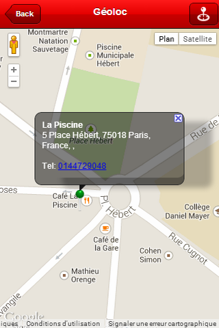 La piscine android apps on google play for A la piscine translation