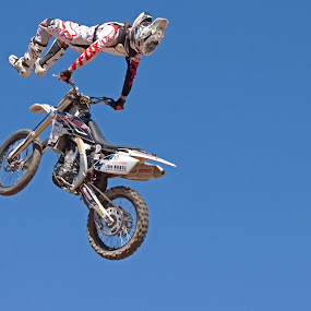 Freestyle by Dirk Luus - Sports & Fitness Motorsports ( motocross, motorbike, tricks, motorcycle, freestyle,  )