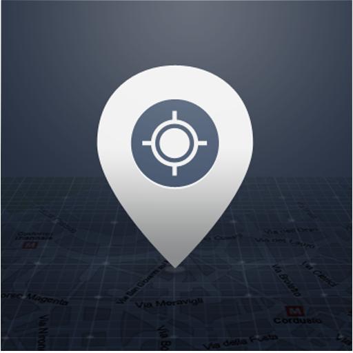 定位追踪器 LOGO-APP點子
