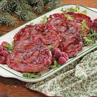 Raspberry Pork Chops