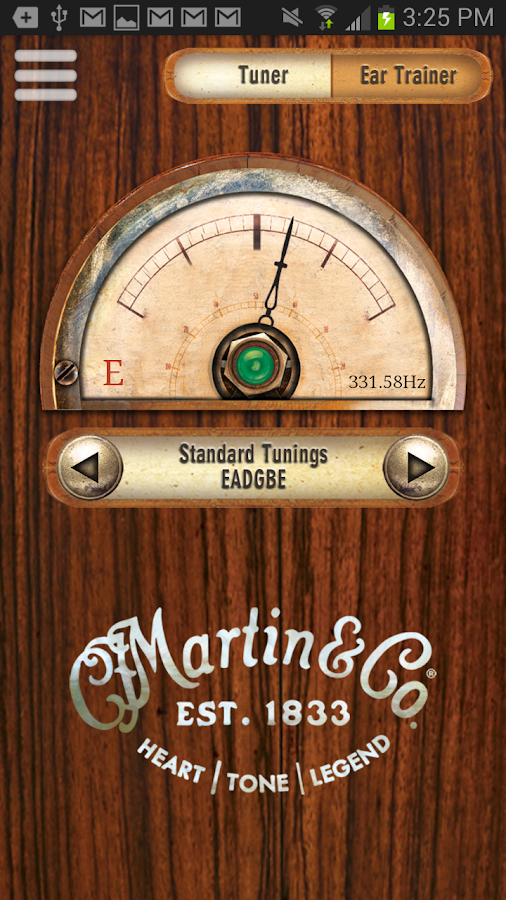 Martin Tuner - screenshot