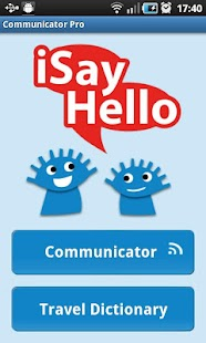 iSayHello Communicator Pro - screenshot thumbnail