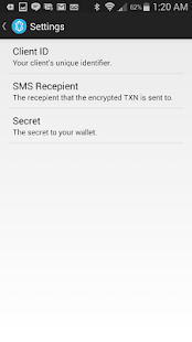 StealthText SMS Transactions- screenshot thumbnail