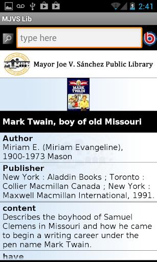 【免費教育App】Mayor Sanchez Public Library-APP點子