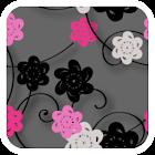 Floral Print Silver v2 Theme icon