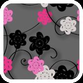 Floral Print Silver v2 Theme