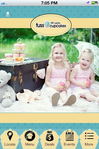 Fuss Cupcakes