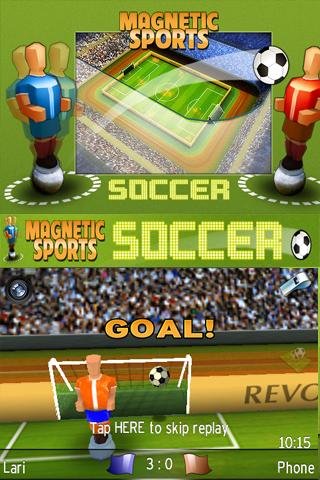 Magnetic Sports Soccer - screenshot