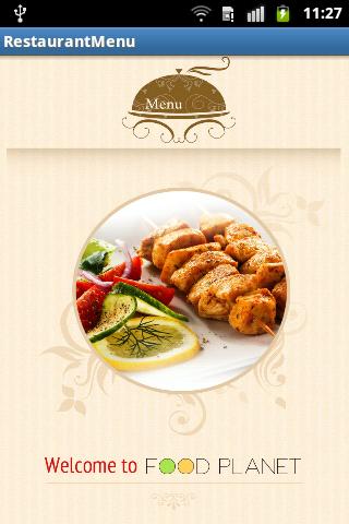 Lnsel Restaurant Application