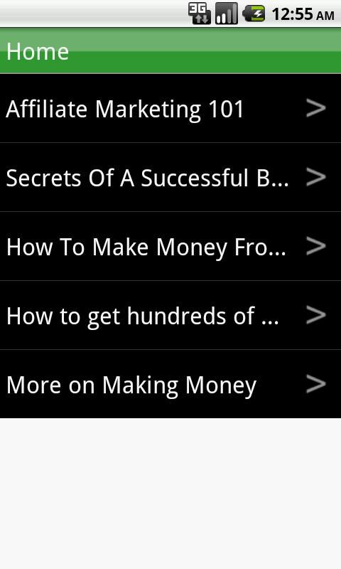 How to Make Money - screenshot