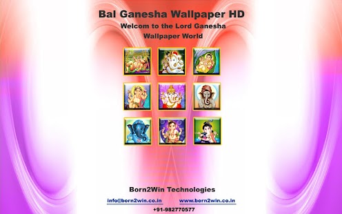 Bal Ganesh Wallpapers HD- screenshot thumbnail