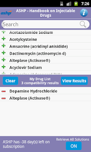 Handbook on Injectable Drugs- screenshot thumbnail