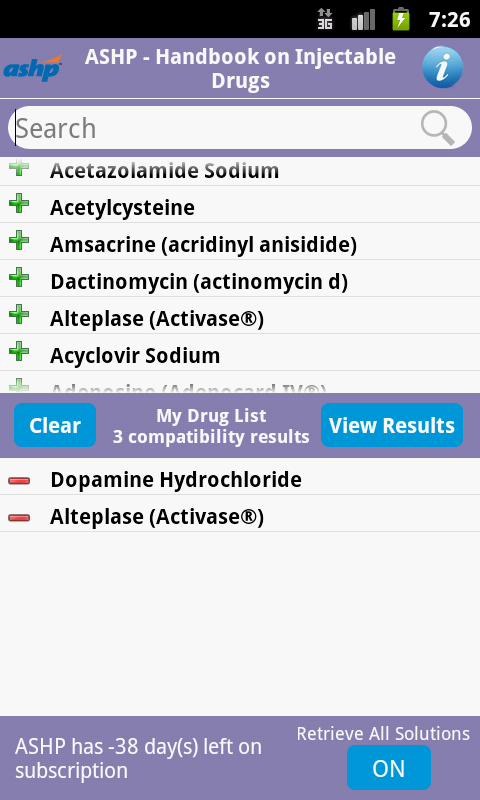 Handbook on Injectable Drugs- screenshot