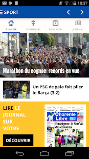 Charente Libre- screenshot thumbnail
