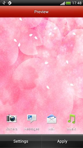 玩個人化App|白色櫻花動態壁紙免費|APP試玩