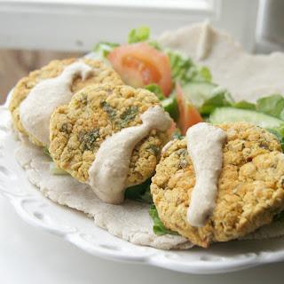Baked Vegan Chickpea Falafel