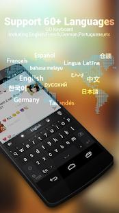 BR Portuguese - GO Keyboard - náhled