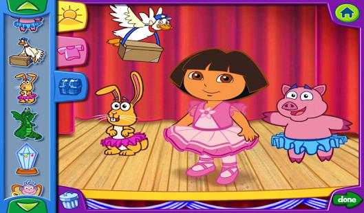 Dora's Dress-Up Adventures