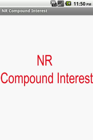 NR Compound Interest