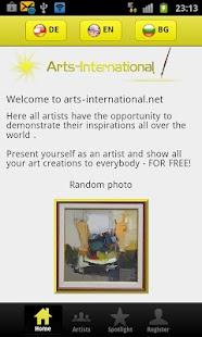 Arts International- screenshot thumbnail