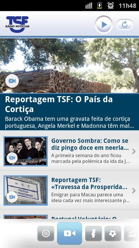 TSF - Rádio Notícias - screenshot
