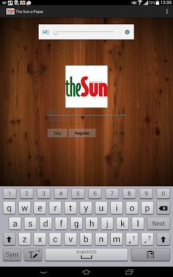 theSun-ePaper - screenshot