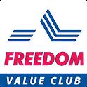 Freedom value club icon