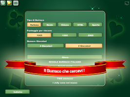 Screenshot of Burraco e Pinelle Online