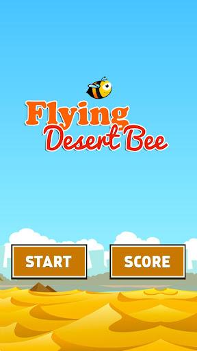 Flying Desert Bee