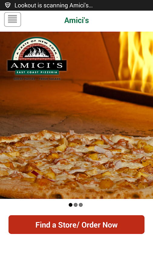 Amici's- screenshot