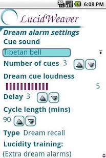 LucidWeaver Lucid Dream Timer - screenshot thumbnail