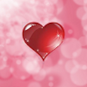 Falling Hearts Live Wall Free icon